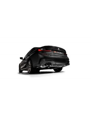 Axle-back-system L/R: Sport exhaust, with 2 integrated valves, incl. ECE type approval
