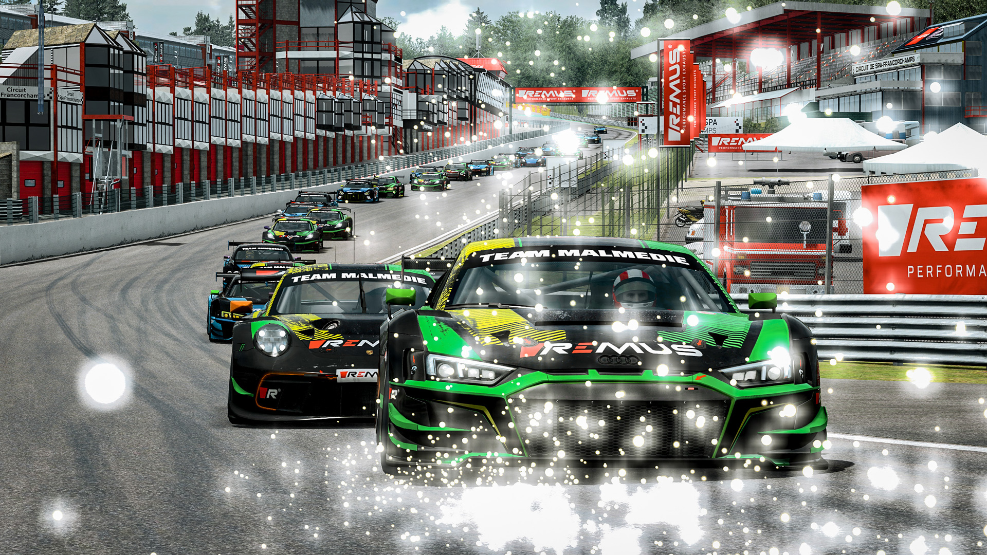 LET THE RACE BEGIN